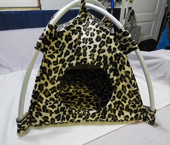 leopard print tent